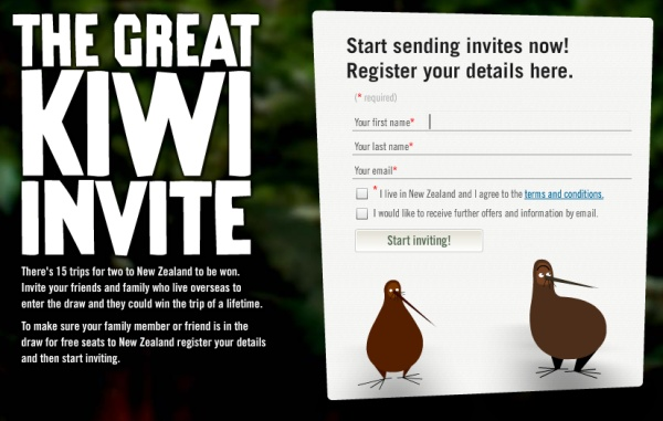 Great Kiwi Invite