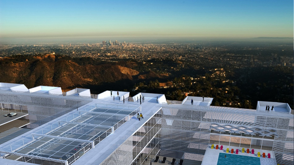 Hollywood Sign Hotel
